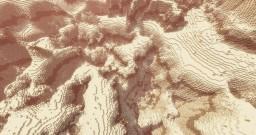 Desert World | Custom Landscape Minecraft Map & Project