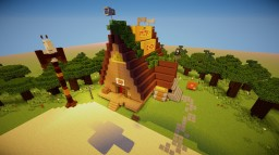Gravity Falls V1 Minecraft Map & Project