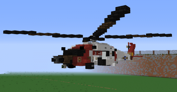 MH-60 Jayhawk USCG (United States Coast Guard) Minecraft Project