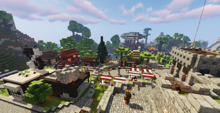 The server's spawn from early 2020.