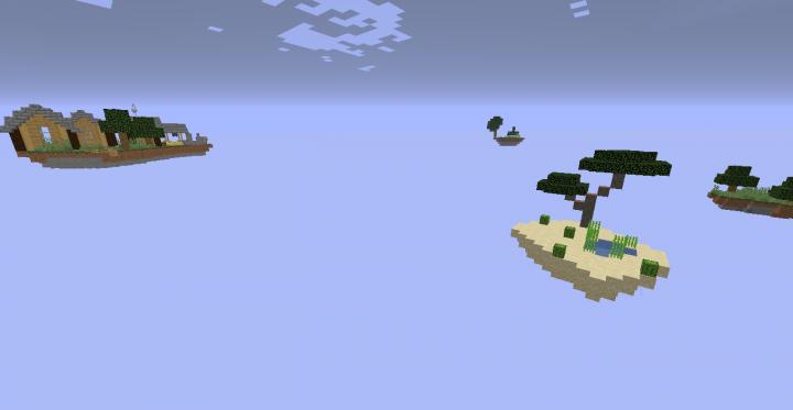 Desert Island w Village Island