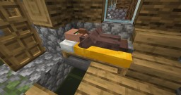 Villager Hopper - Pickpocket sleeping villagers! Minecraft Data Pack