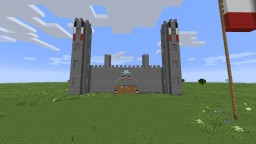 Castle + House Minecraft Map & Project
