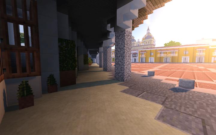 Plaza de la Aduna - In the morning