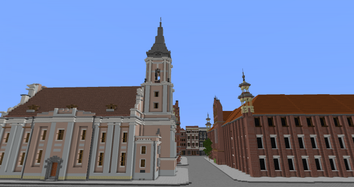 Old Town Minecraft Project