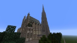 St. Stephen`s Cathedral 1:1 PS4 Minecraft Map & Project