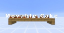 Movable Cake Minecraft Data Pack