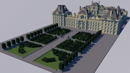 Pairs, France: Louvre/ Palace of Tuileries Minecraft Map & Project