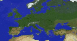 Earth in Minecraft: 1:553 scale Earth Map (77,760 x 38,880