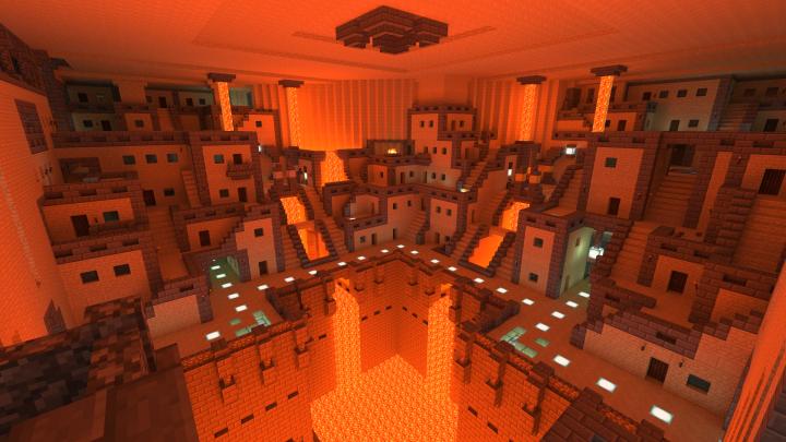 Blacksmith living quarters deep underground