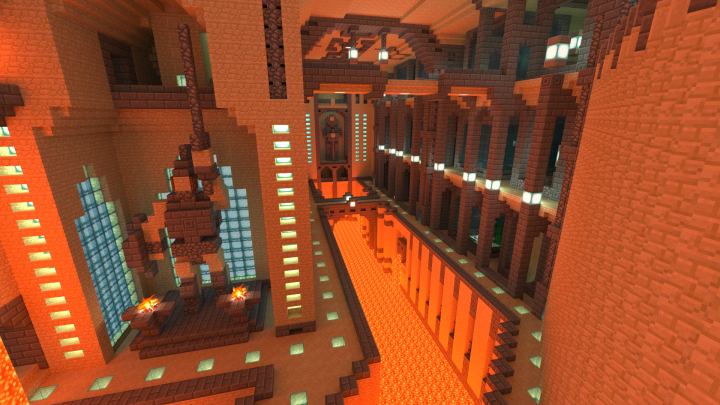 East wing of the Zoologic district behind the Arena. The mob cages are located on the right between the pillars.