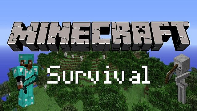 Minecraft Survival Map Minecraft Project