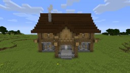 Large Farm House Minecraft Map & Project