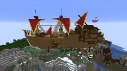Monster Hunter World Gathering Hub Minecraft Map & Project