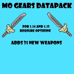 Mo Gears (v1.2) Minecraft Data Pack