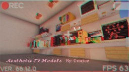 Aesthetic TV pack Minecraft Texture Pack