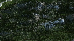 Small part of Europe map 9000х6000 Minecraft Map & Project