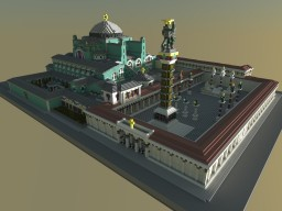 Hagia Sophia Cathedral Minecraft Map & Project