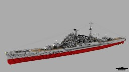 Fictional Japanese Big Cruiser IJN Yōtei 1:1 Minecraft Map & Project