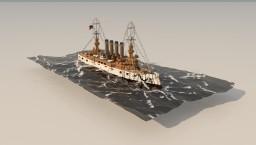 | Saint.louis-Class [1905] Cruiser battleship | Minecraft Map & Project