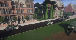 1.5:1 Scale, Military GREEN CB-534C Vibratory Asphalt Roller Minecraft Map & Project