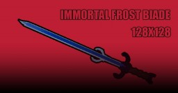 Immortal Frost Blade 3D Model/Files Minecraft Texture Pack