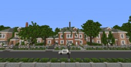 Rosebush Park | Upper-class gated community Minecraft Map & Project