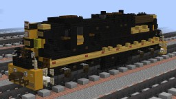 [1.5:1] D&RGW EMD SD9 road switcher Minecraft Map & Project