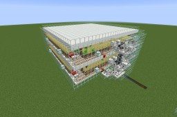1.14+ Ultra-Efficient Automatic Carrot, Potato, Wheat, Seed, Bread, Beetroot, And Beetroot Seed Farm (For 1.14+ Mechanics) Minecraft Map & Project