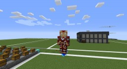 Iron Man Minecraft Texture Pack