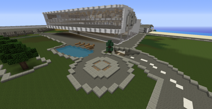 As promised edited the front of the building