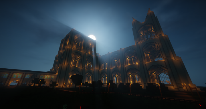 Spawn at night - Cathedral By ZonkedCompanion