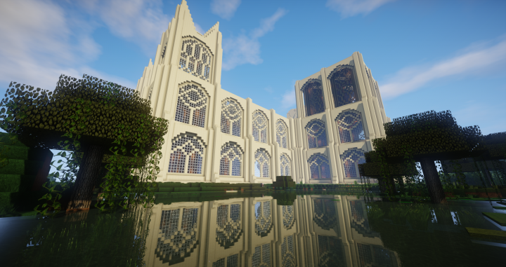 Reflections - Cathedral By ZonkedCompanion