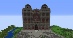 EndlessFR - St Michel Cathedral Minecraft Map & Project