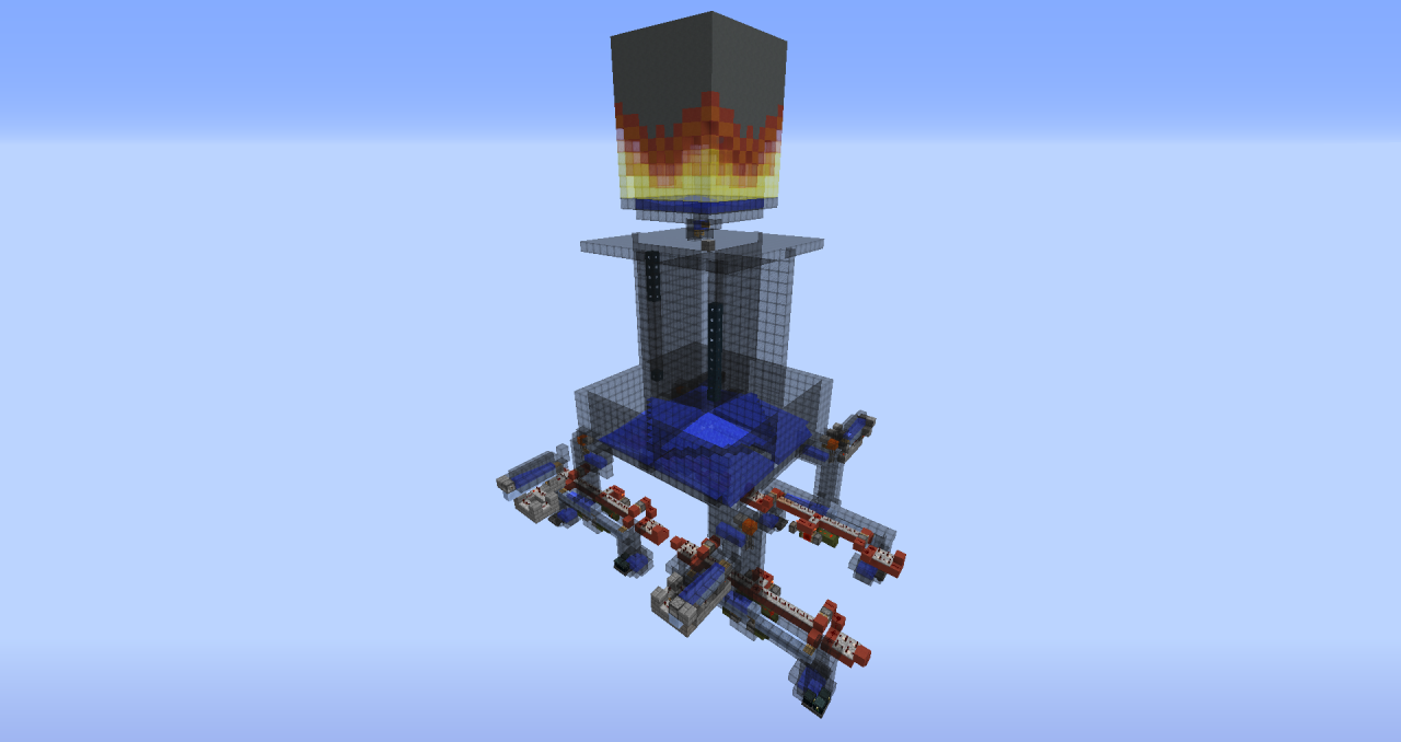 Villager Grinder/Blaze Farm For Skyblock Servers Minecraft