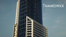 Thameswick - a skyscraper Minecraft Map & Project