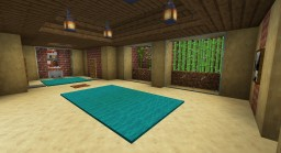 Secret Started Base Minecraft Map & Project