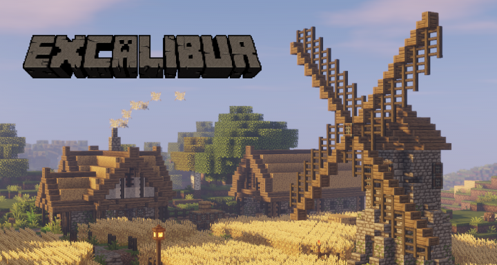 1 13] Excalibur Minecraft Texture Pack