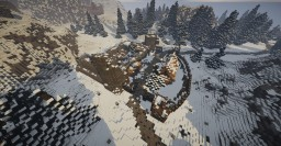Fort Dunstad, Imperial fort with interiors (Skyrim TES) Minecraft Map & Project