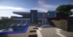 The Modern House Minecraft Map & Project