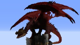 Dragon on Tower Minecraft Map & Project