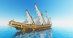 Merchant Dhow Minecraft Map & Project