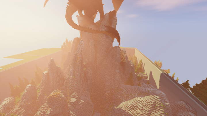 Showing off the terrain with different lighting