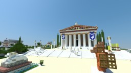 The Acropolis of Athens V1 Minecraft Map & Project