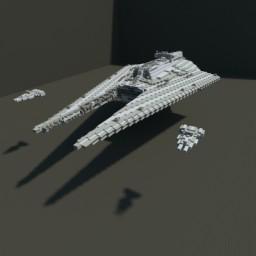 Impellor-Class Fleet carrier and Arquitens-Class Light cruisers Minecraft Map & Project