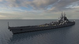 Fictional French Battleship - Le Grand Condé Minecraft Map & Project