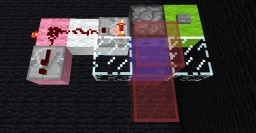 The LiD [Liquid in Dispenser] T-flipflop, a novel circuit. Minecraft Map & Project