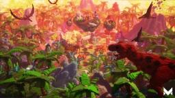 Jurassic War Theatre | a 650x650 Warzone Minecraft Map & Project