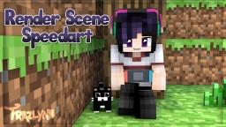 Render Scene Speedart Minecraft Blog