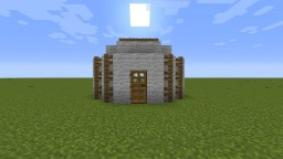 Small Yurt (Nomad Tent) Minecraft Map & Project